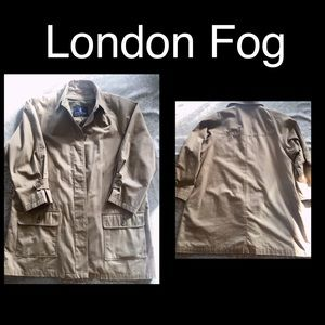 London Fog Trench 🧥 Size 16